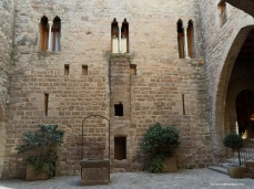 Patio Ducal del Castillo de Cardona